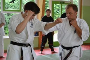Ryoku Shin Do Blackbelt Seminar Karate Konterschlag